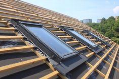 Skylight Window, Roof Window, Building Contractors, Roofing Contractors, Pose Velux, Window Cost, Roof Restoration, Kings Home, Roofing Companies