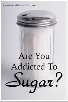 Sugar addiction is REAL. Check out this scary, but eye opening study.