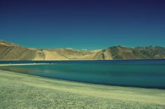 Pangong Lake. Ladakh - Little Tibet in India