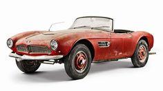 BMW、納屋で発見されたエルヴィス・プレスリーの愛車「507」を完全レストア! - Autoblog 日本版