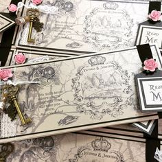 Resultado de imagen para laser cut alice in wonderland invitations