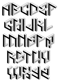 PENROSE GEOMETRIC Font: Upgrade-New Features: 'Penrose Geometric' Duo* (Standard and Alternates) is a display type-family with 18 fonts in 9 styles sep. Graffiti Lettering Alphabet, Tattoo Fonts Alphabet, Tattoo Lettering Fonts, Graffiti Font, Lettering Styles, Block Lettering, Lettering Design, Graffiti Artists, Monogramm Alphabet