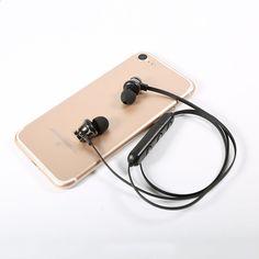 Bluetooth-навушники з металевими магнітними динаміками для бездротових  спортивних навушників для iPhone 6   6s 93d607a3ec667