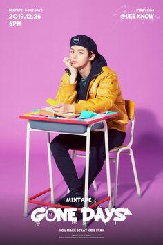 "Mixtape: ""Gone Day's"" - Teaser Images (Stray Kids) Stray Kids Minho, Lee Know Stray Kids, Mixtape, Gone Days, Wattpad, Social Trends, Kid Memes, Kids Wallpaper, Lee Min Ho"