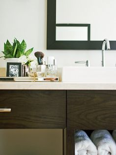 Bathroom Design Ideas That Add Style and Function (from @camillestyles) >> http://blog.hgtv.com/design/2015/06/24/bathroom-design-details-that-add-style-function/?soc=pinterest