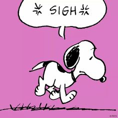 Snoopy in the  current moment.