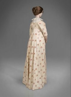 Dress ca. 1790, altered ca. 1800 From Colonial Williamsburg