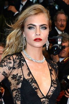 Cara Delevingne at the Cannes Film Festival 2013