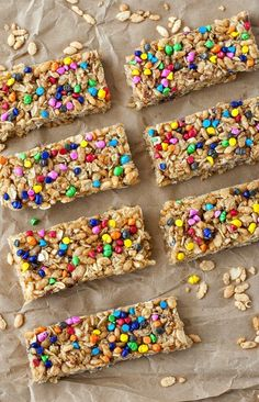 Make yummy, crunchy Homemade Granola Bars with this recipe.