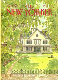 """The New Yorker"" cover by Jenni Oliver, September 5, 1983"