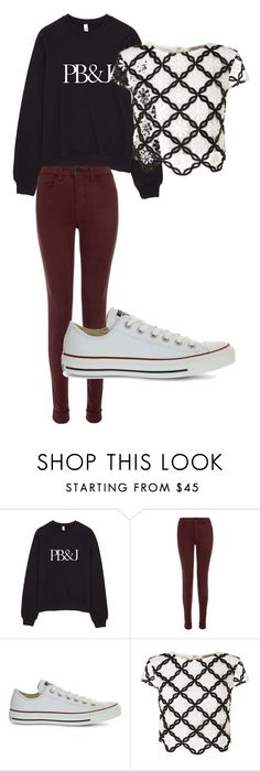 """""""October 3"""" by megaspirit on Polyvore featuring J Brand, Converse and Lipsy"""