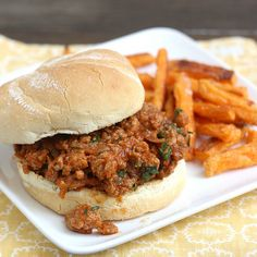 Tracey's Culinary Adventures: Ground Turkey Sloppy Joes with Hoisin and Cilantro