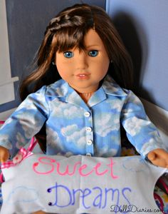 Easy No Sew Pillow for Dolls