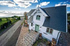 Strandhaus II Fehmarn auf Fehmarnsund: 2 Schlafzimmer, für bis zu 4 Personen. Captains-Deck direkt am Strand mit Meerblick | FeWo-direkt
