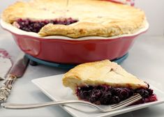 This Saskatoon berry pie filling and sauce is cooked ahead, allowing time for the berries to soften for a richer, thicker and tastier filling! Pastry Recipes, Dessert Recipes, Desserts, Saskatoon Berry Recipe, No Fail Pie Crust, Berry Sauce, Berry Tart, Cupcakes, Cake Fillings