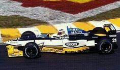 Minardi F1 Team N°21 Jarno TRULLI Minardi M197 Hart 830 3.0 V8 Bridgestone