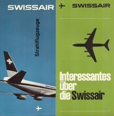 Collection of Swiss Air posters