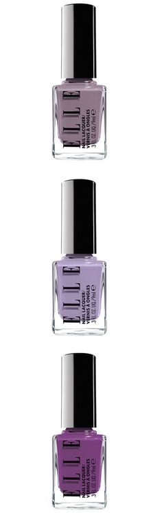 In A Fog, Shock It To Me & Like It Lilac #nailpolish from #ELLE #Kohls