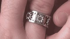 The Gear Ring by Kinekt Design The ultimate in... | Future—Predictor