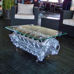 Perfect 25 Inventive Examples Of Furniture Made From Car Parts