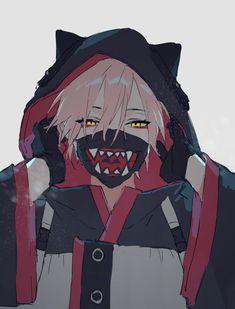 Had to choose it looked cute! Fanarts Anime, Anime Neko, Manga Anime, Anime Art, Anime Boys, Cute Anime Guys, Dark Anime, Otaku, Estilo Anime