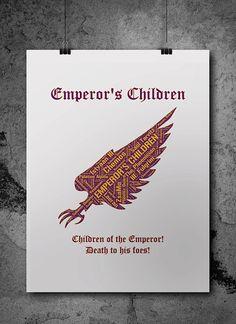 Emperor's Children Pre-Heresy Warhammer 40K by ZsaMoDesign