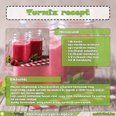 Egy isteni turmix receptje #turmix #recept