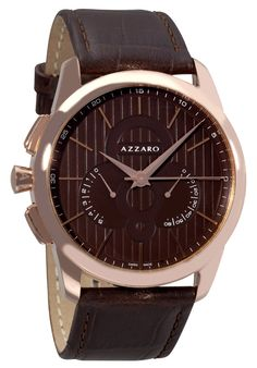 Price:$329.00 #watches Azzaro AZ2060.53HH.000, Azzaro watches are designed in the purest Swiss Watch-making tradition with a blend of charm and seduction. The watches recapture the spirit of Loris Azzaro, for whom audacity had to go hand in hand with precision.