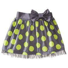 Target- Disney® Infant Toddler Girls' Mad Skirt - Grey/Green