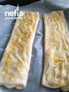 Sadece Süt Ve Unla Katmer – Nefis Yemek Tarifleri Pizza, Bread, Cheese, Ethnic Recipes, Kitchen, Food, Allah, Cuisine, Cooking