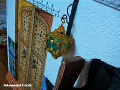 Heloise-miminimundo: Tutorial lámpara marroquí