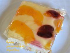 Γλυκό ψυγείου με φρυγανιές, σπιτική κομπόστα και άνθος αραβοσίτου (και σε νηστίσιμη εκδοχή) (VIDEO) - cretangastronomy.gr Dessert Recipes, Desserts, Sweet Tooth, Pudding, Tasty, Food, Cakes, Tailgate Desserts, Deserts