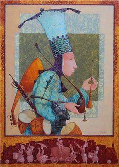 MUSIC CENTER by Merab Gagiladze (b1972 Tbilisi (Tiflis) GEORGIA) | მერაბ გაგილაძე