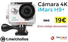 Cámara 4K iMars H9 disponible por 19 - http://ift.tt/2wNYoB1