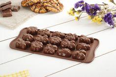 Forma do czekoladek / kostek lodu silikonowa SILIKOMART CHOCO SPRING-LIFE