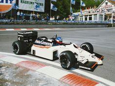 1986 Spa-Francorchamps Data General Team Tyrrell 015 Philippe Streiff