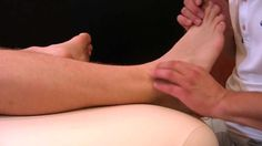 I should probably marry a Physical Therapist. . . Back Pain from Ankle Sprain, Foot  Leg Sports Massage by Ron, Catz Austin