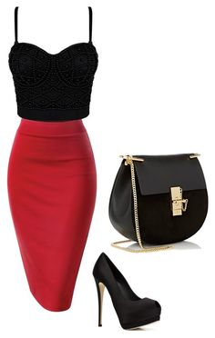 """""""Untitled #6"""" by ibricsemir ❤ liked on Polyvore featuring Giuseppe Zanotti and Chloé"""