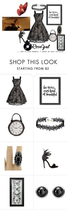 """""""Be Infinite"""" by sallytcrosswell ❤ liked on Polyvore featuring Americanflat, Thomas Sabo and Wallflower"""