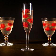 Raspberry Champagne Gelée