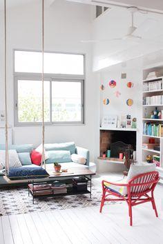 Parisian interior Cachemire et soie / Hëllø Blogzine - www.hello-hello.fr