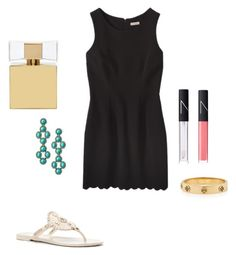 """""""Untitled #54"""" by ablrichh on Polyvore featuring Stella & Dot, Tory Burch, NARS Cosmetics, Kate Spade and Jack Rogers"""