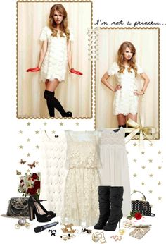 """Now is too late for you and your white horse"" by littlemissnurse ❤ liked on Polyvore"