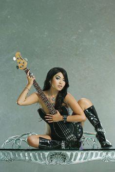 Mariqueen Maandig--Trent Reznor's wife.  Lead singer of How to Destroy Angels.