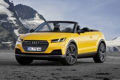 Audi TTQ Cabriolet Photoshop