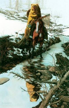 Bev Doolittle- Spirit of the Grizzly