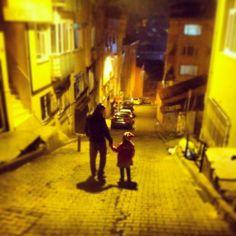 Kızım ve ben # selamsız.