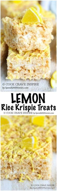 Lemon Rice Krispie Treats are delicious, easy to prepare and give a classic treat a fantastic fresh citrusy spin! Perfect for dessert or to fill a lunch box.