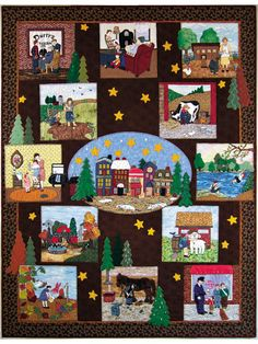 Piecemakers 2008 Times and Seasons Calendar and Quilt Book – Piecemakers Country Store Online Store