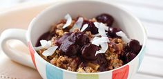 Chocolate Oatmeal with Cherry Sauce | alive #369, July 2013